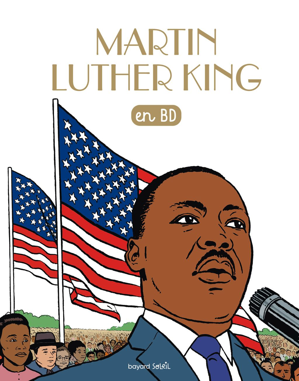 Couverture de « Martin Luther King en BD (CDD) »