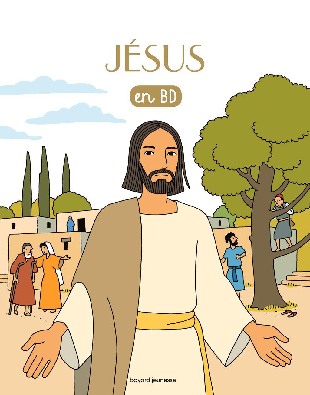 «Jésus en BD» cover
