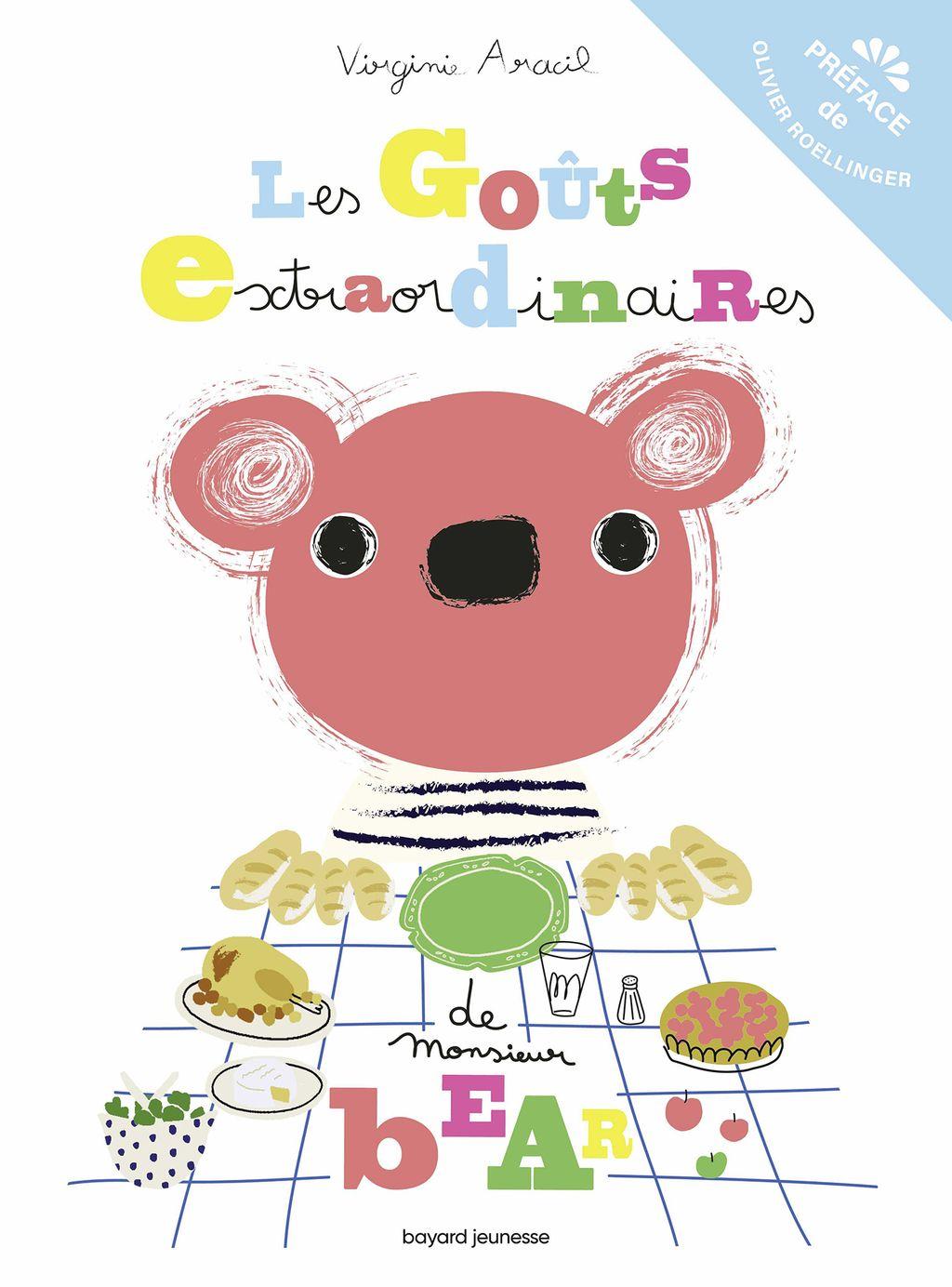 «Les goûts extraordinaires de monsieur Bear» cover