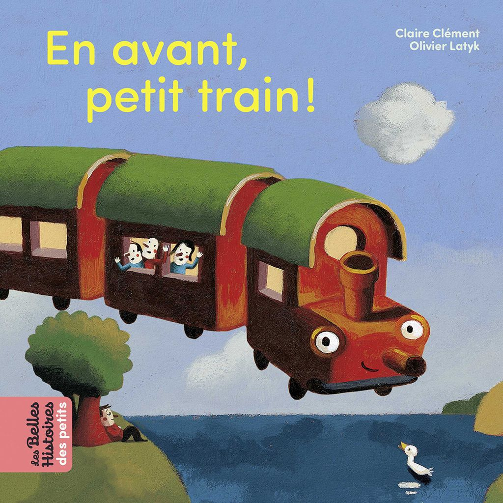 Couverture de «En avant, petit train !»