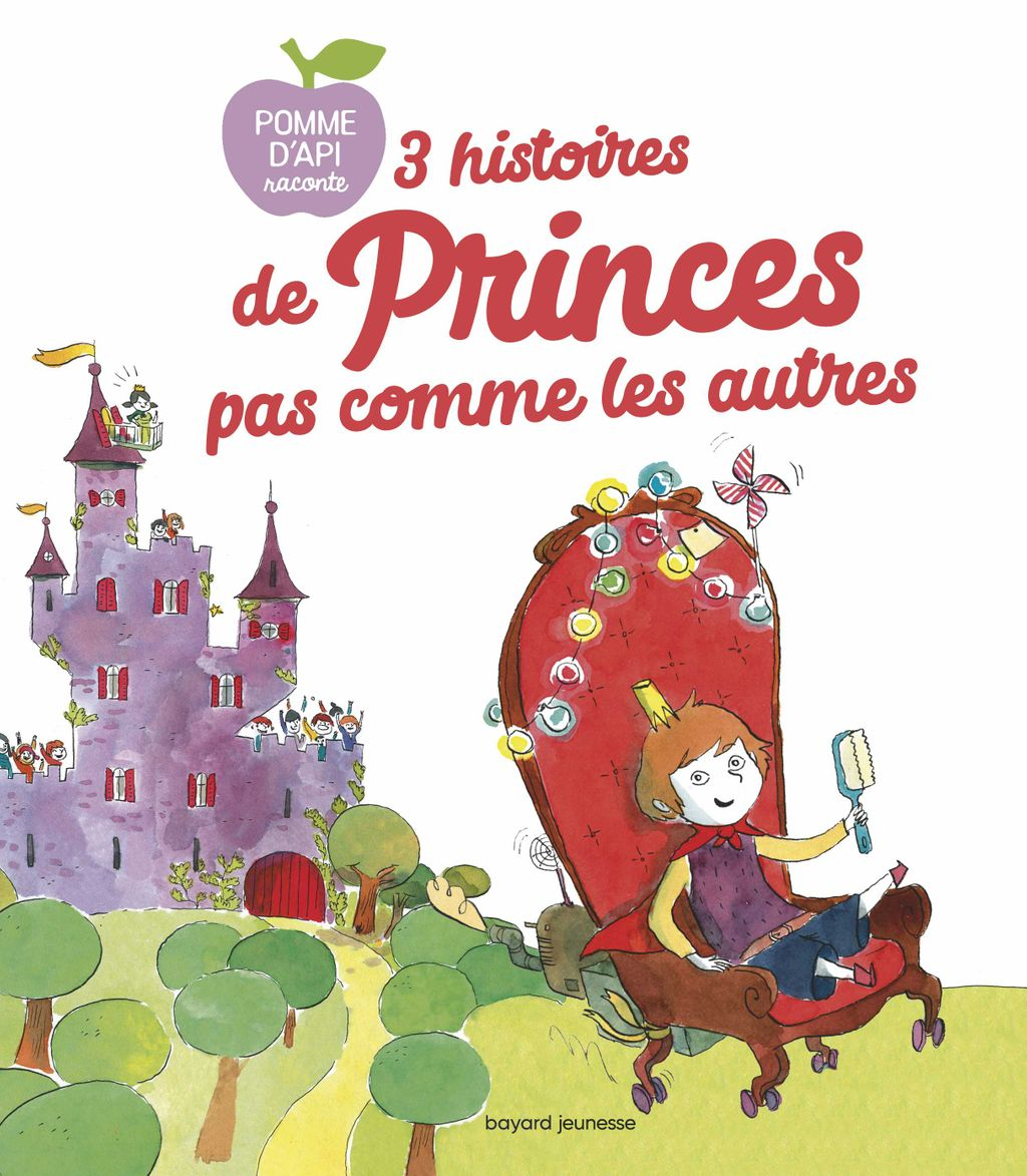 Couverture de «3 Histoires de princes pas comme les autres»