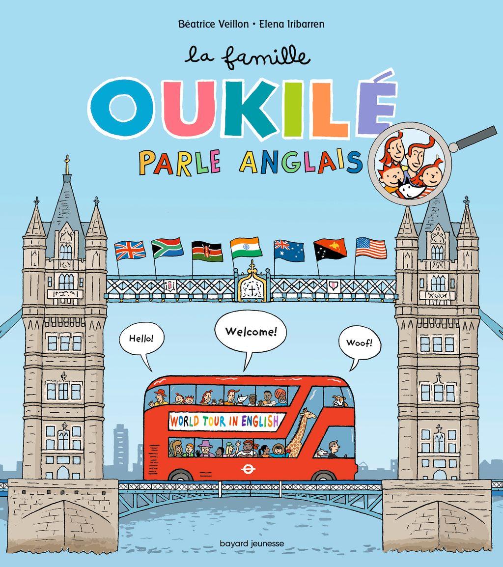 «La famille Oukilé parle anglais» cover
