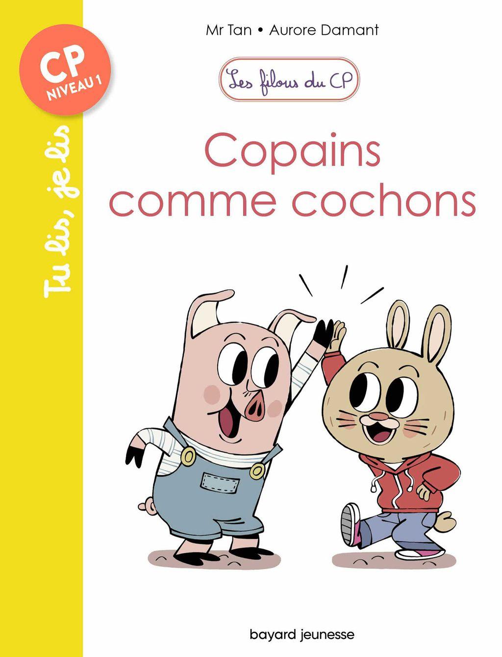 Couverture de «Copains comme cochons»