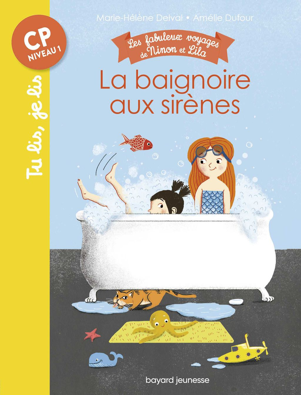 «La baignoire aux sirènes» cover