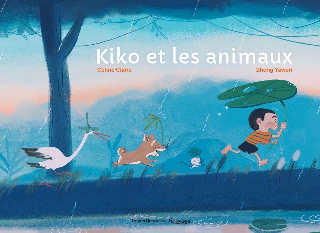 «Kiko et les animaux» cover