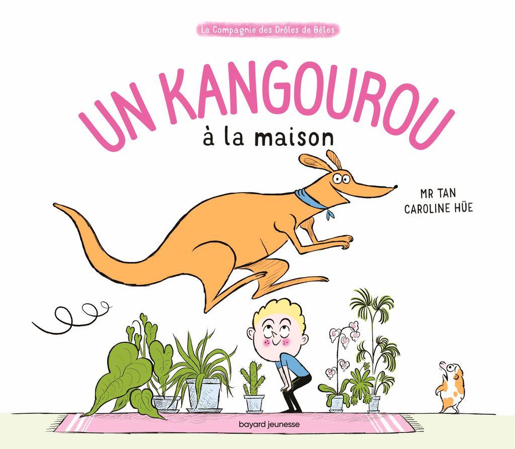 Couverture de «Un kangourou à la maison»
