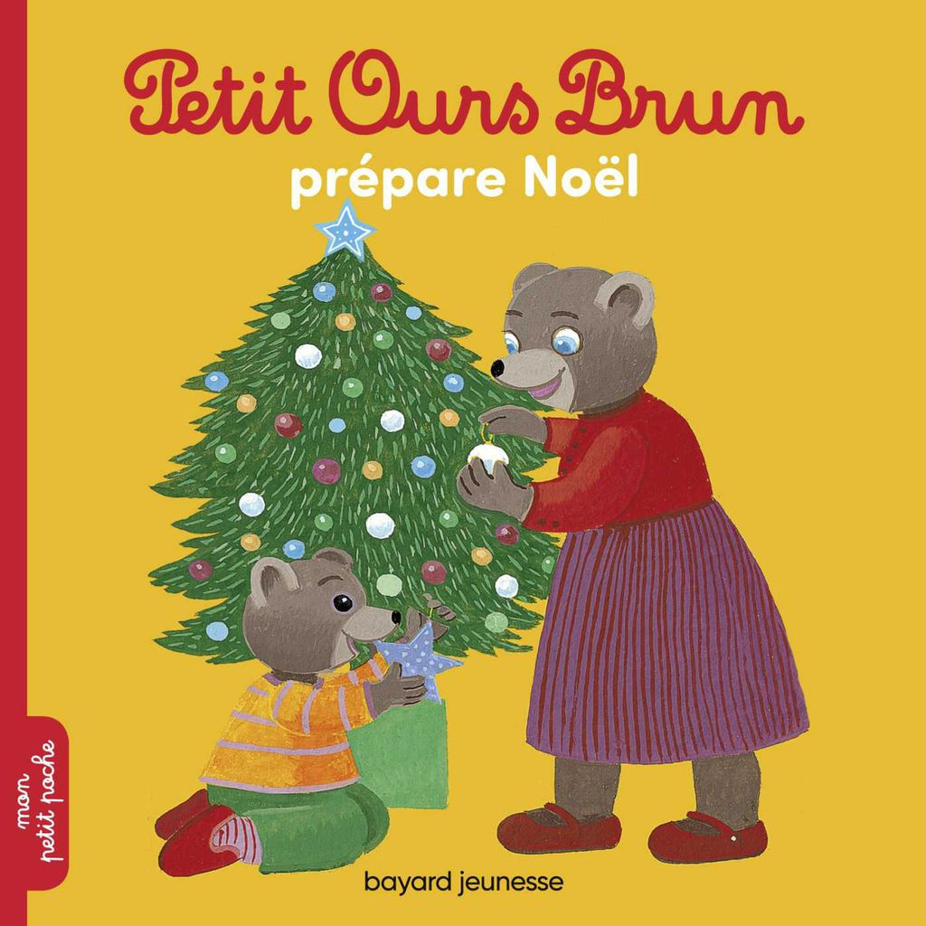 Couverture de «Petit Ours Brun prépare Noël»