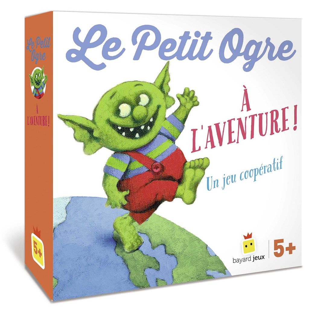 Couverture de «Le Petit Ogre, Le jeu – À l'aventure !»