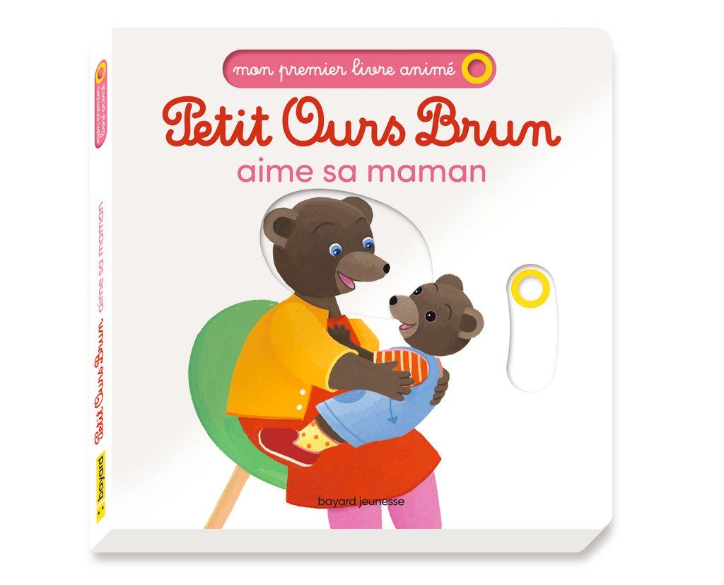 Couverture de «Petit Ours Brun aime sa maman – Mon premier livre animé»