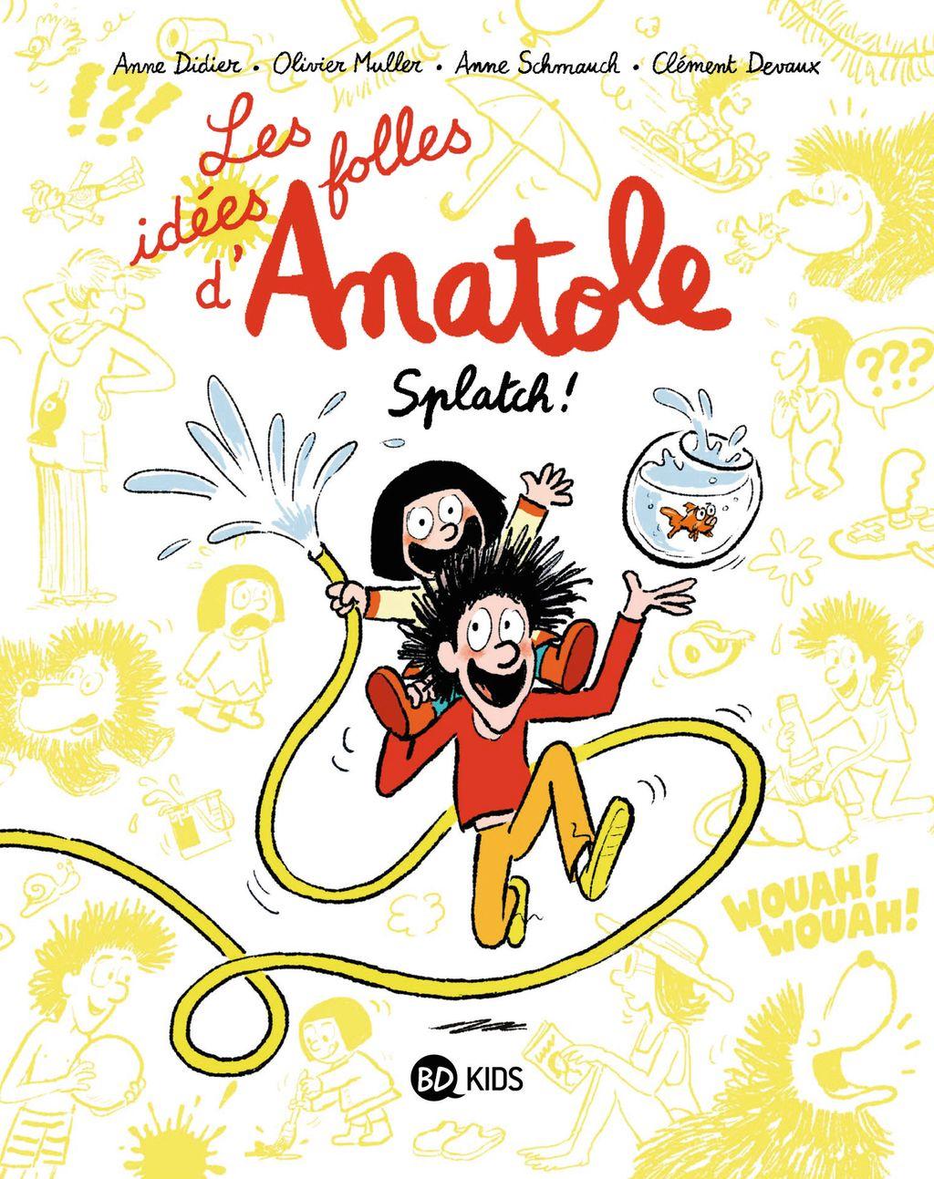Couverture de «Les idées folles d'Anatole»