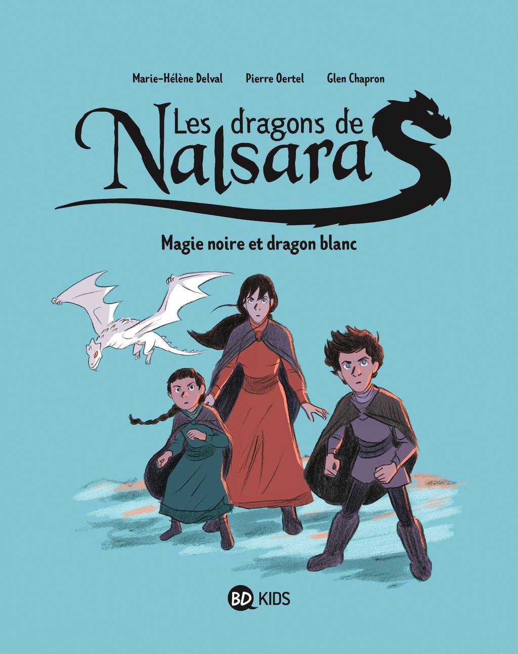 «Magie noire et dragon blanc» cover