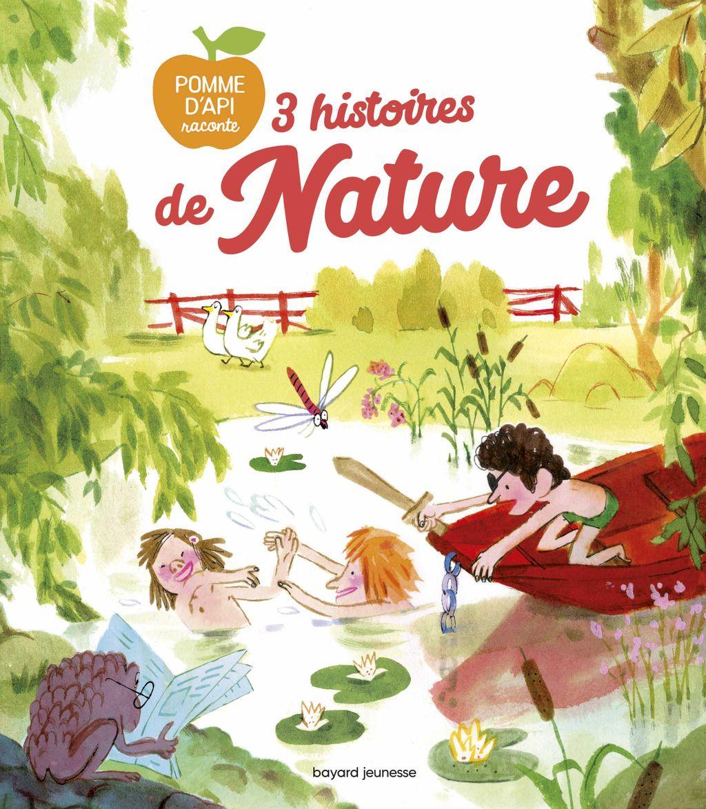 «3 histoires de nature» cover