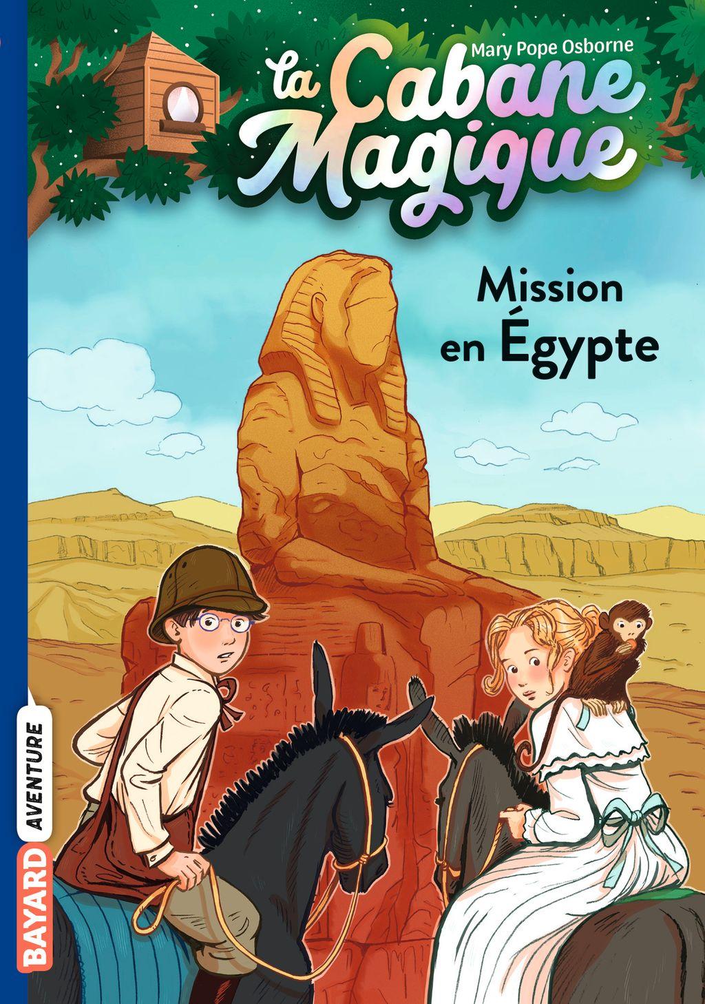 Couverture de «Mission en Égypte»