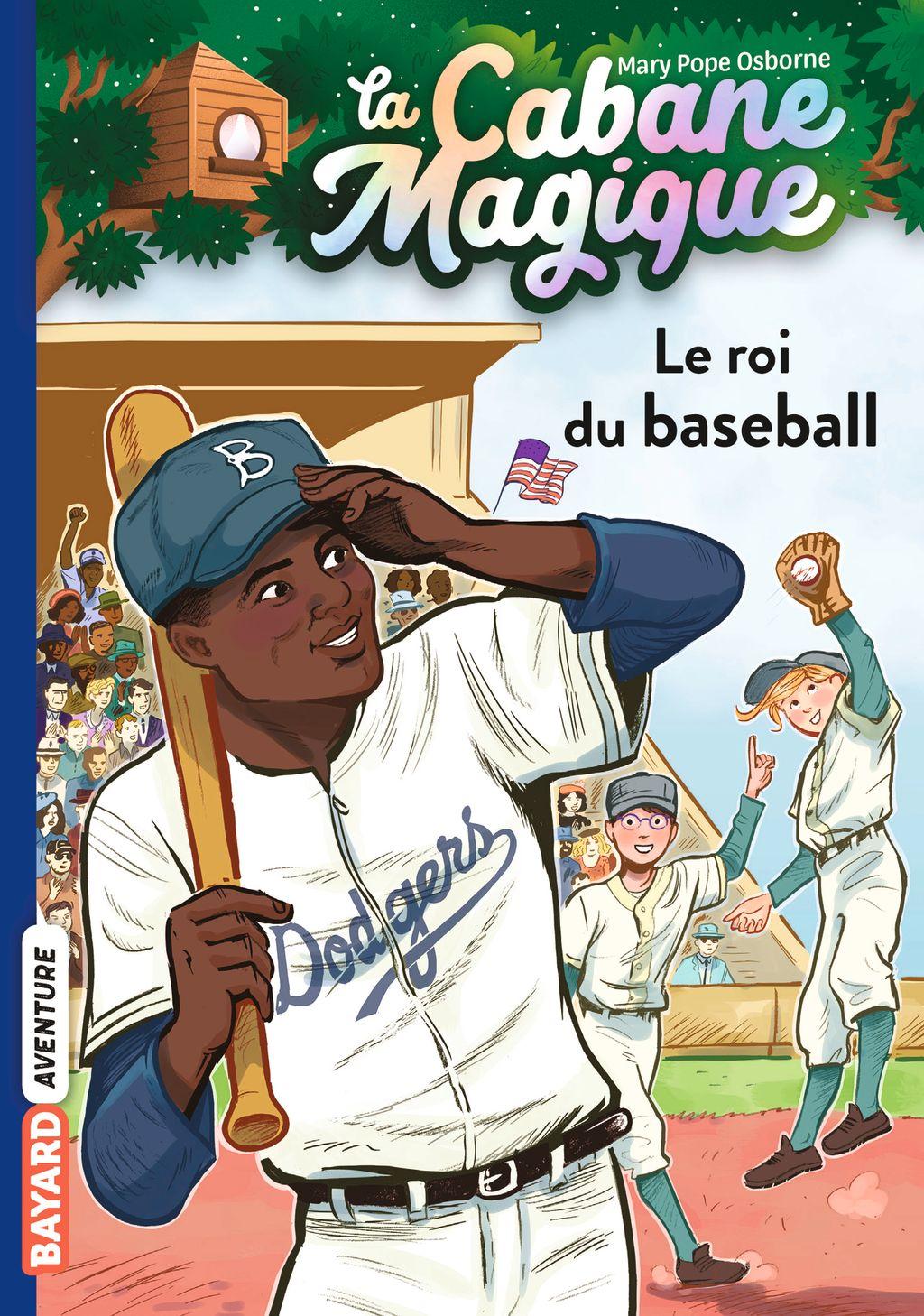 Couverture de «Le roi du baseball»