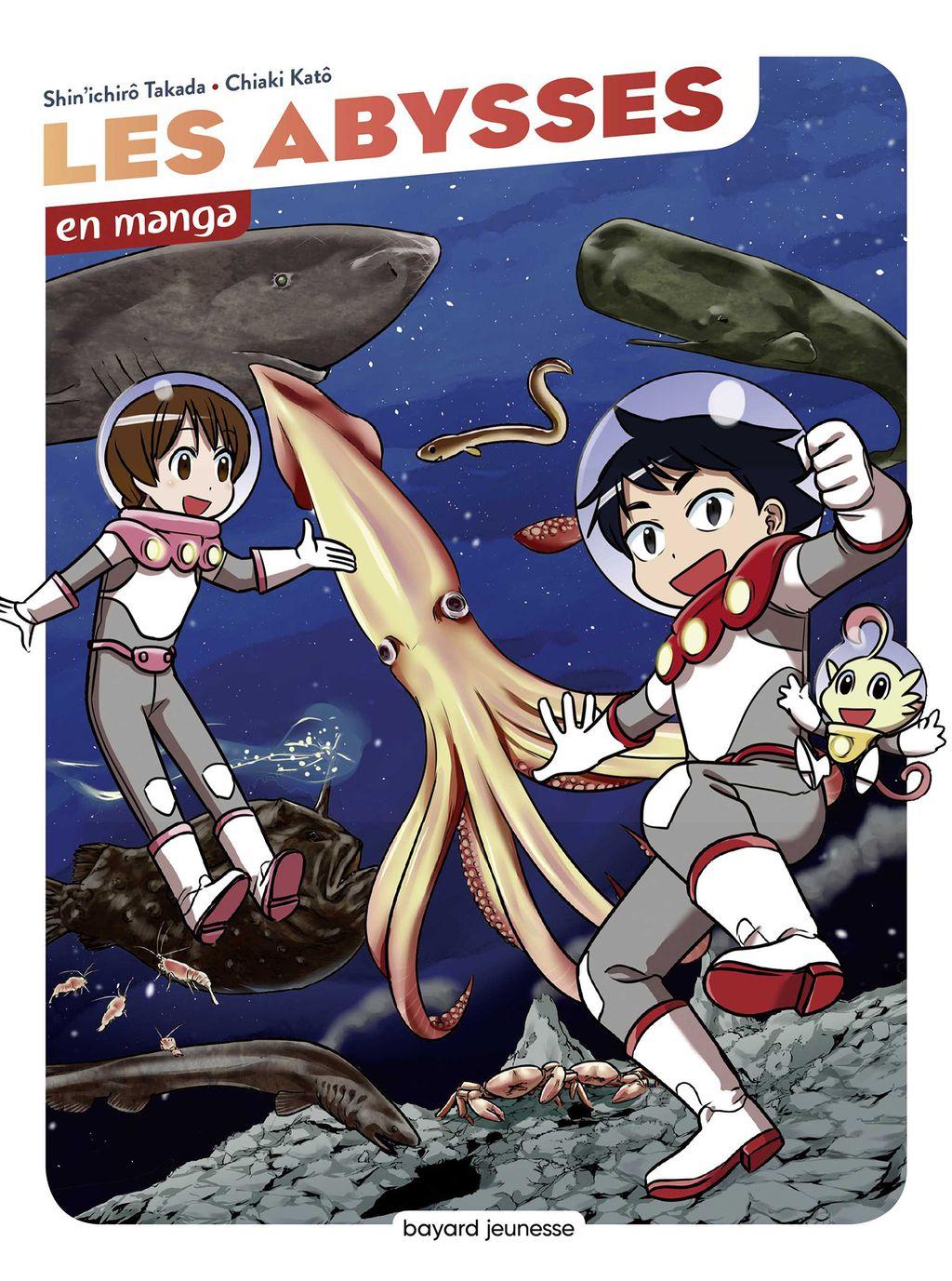Couverture de «Les abysses en manga»