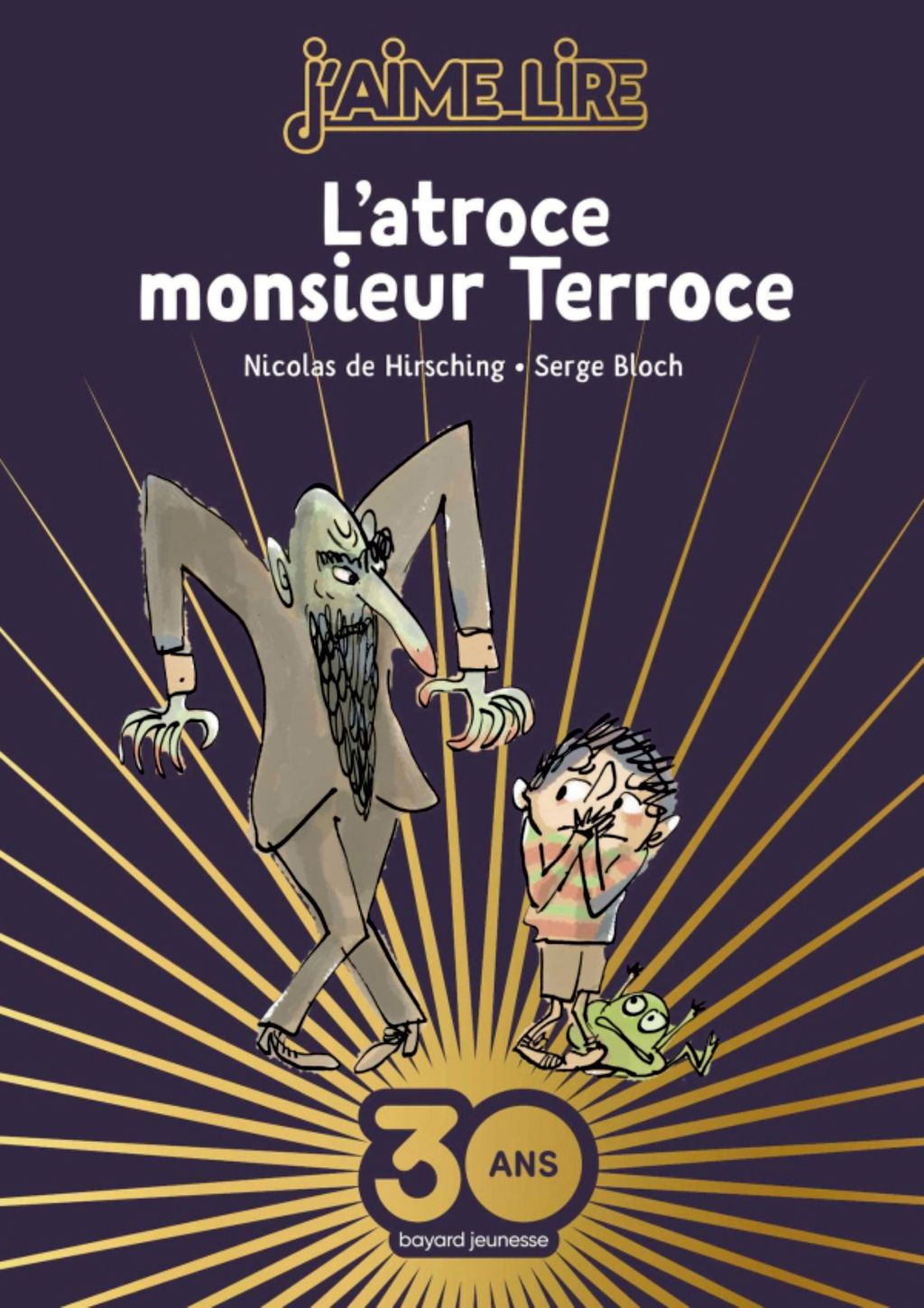 « L'atroce Monsieur Terroce – Collector » cover