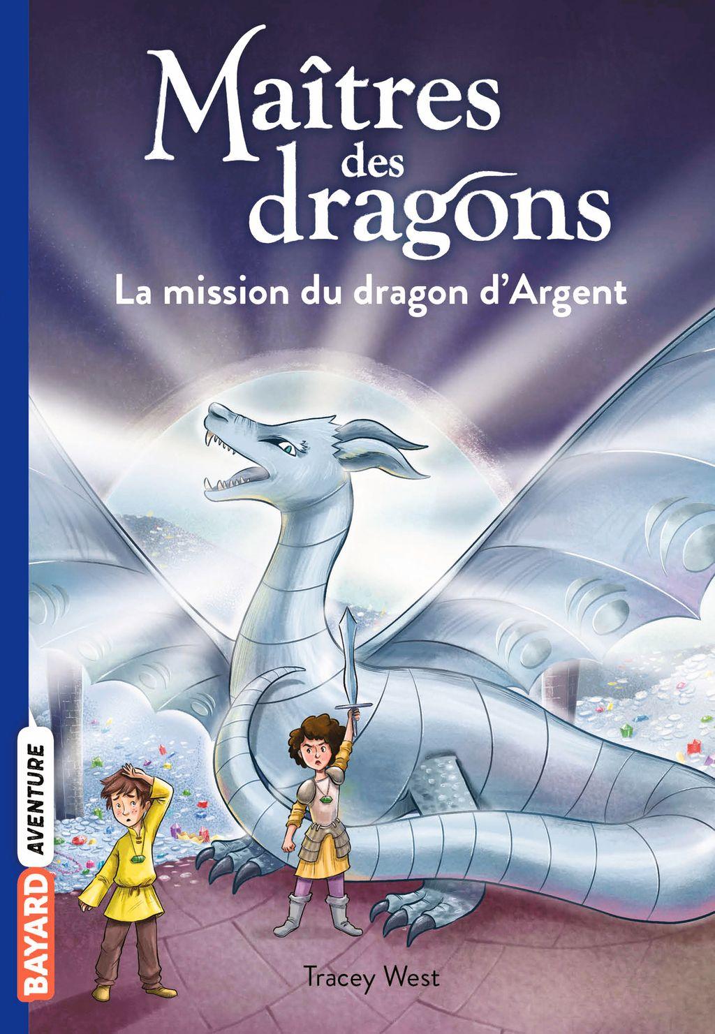 Couverture de «La mission du dragon d'Argent»