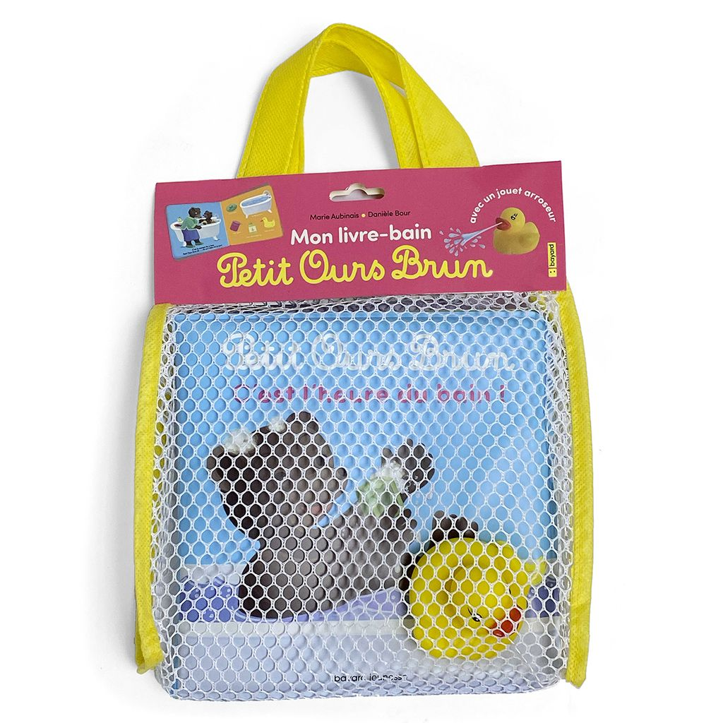 Couverture de «Petit Ours Brun – C'est l'heure du bain !»