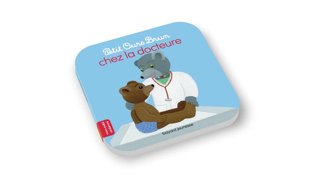 Couverture de «Petit Ours Brun chez la docteure»