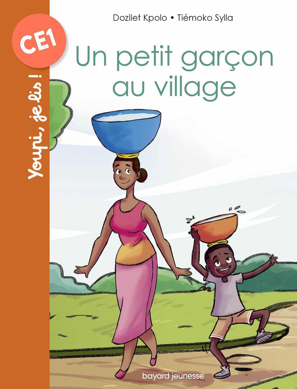 Couverture de «Un petit garçon au village»