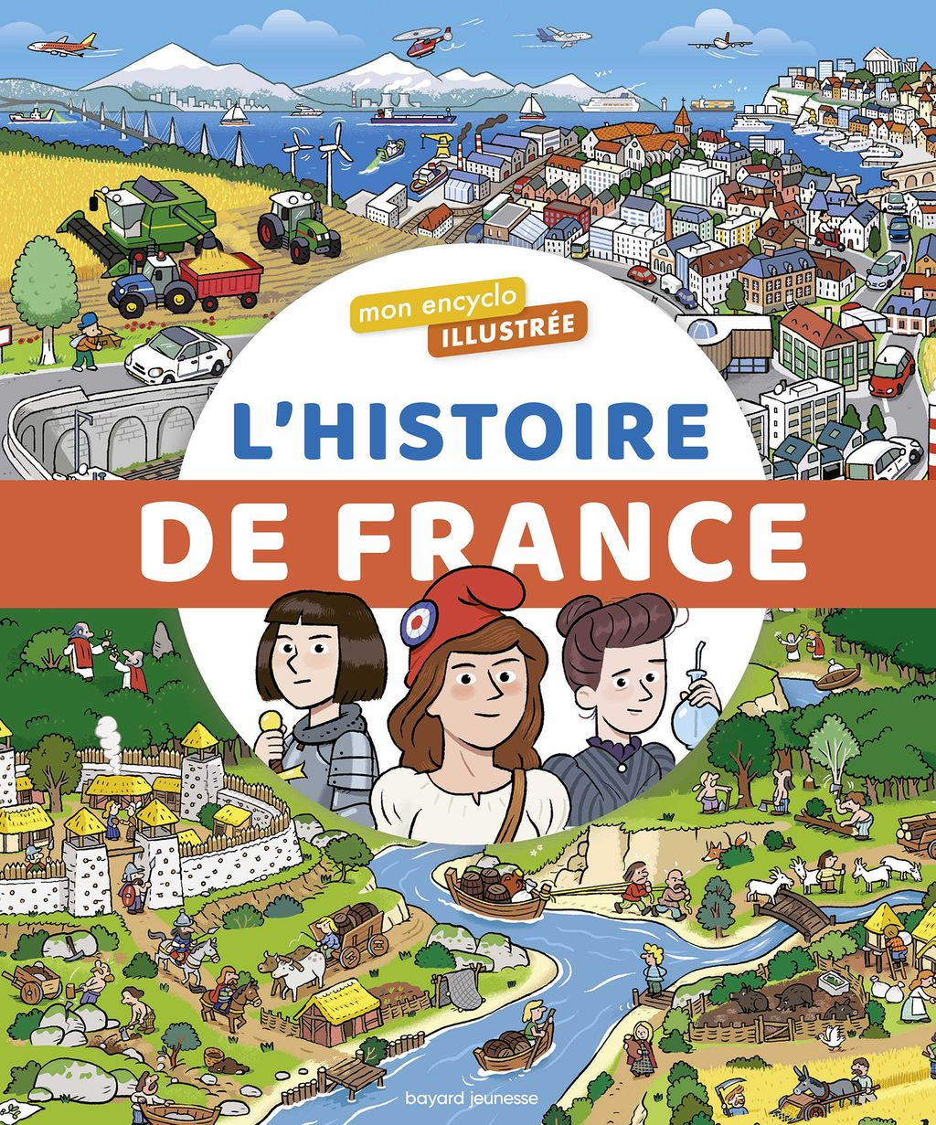 Couverture de «L'encyclo illustrée de l'histoire de France»