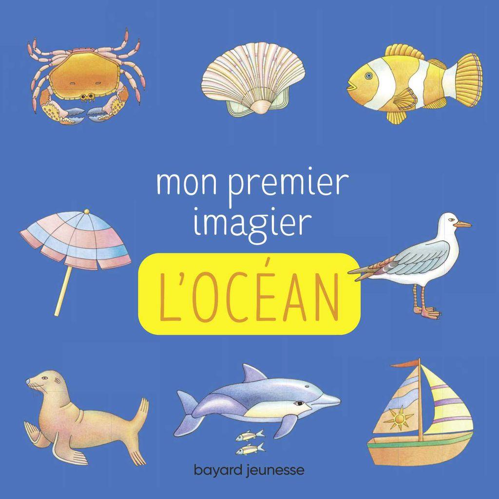 Couverture de «Mon premier imagier – L'océan»