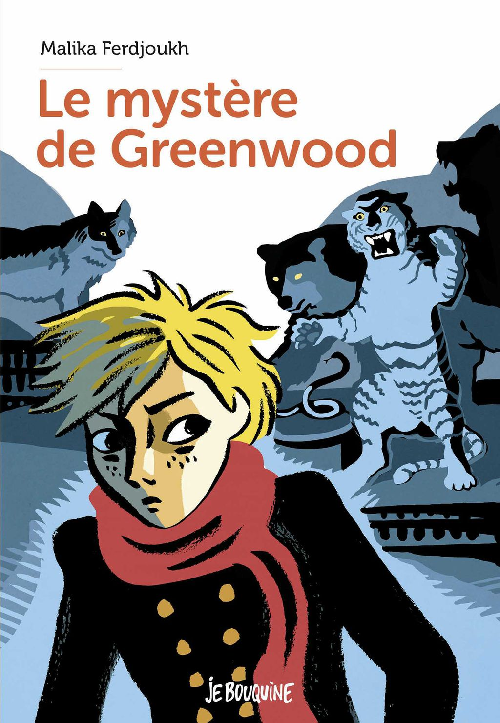 Couverture de «Le mystère de Greenwood»