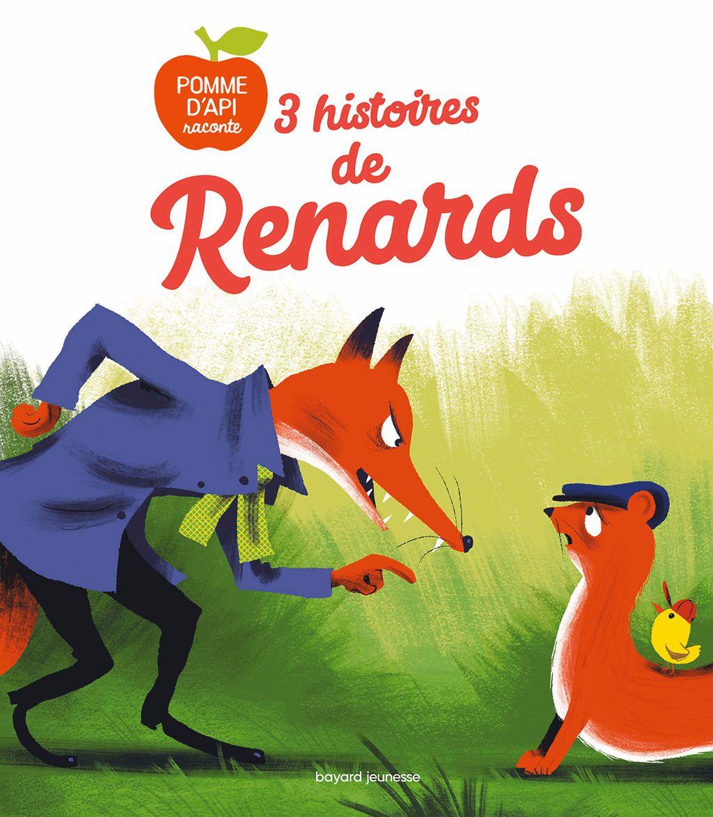 Couverture de «3 histoires de renards»