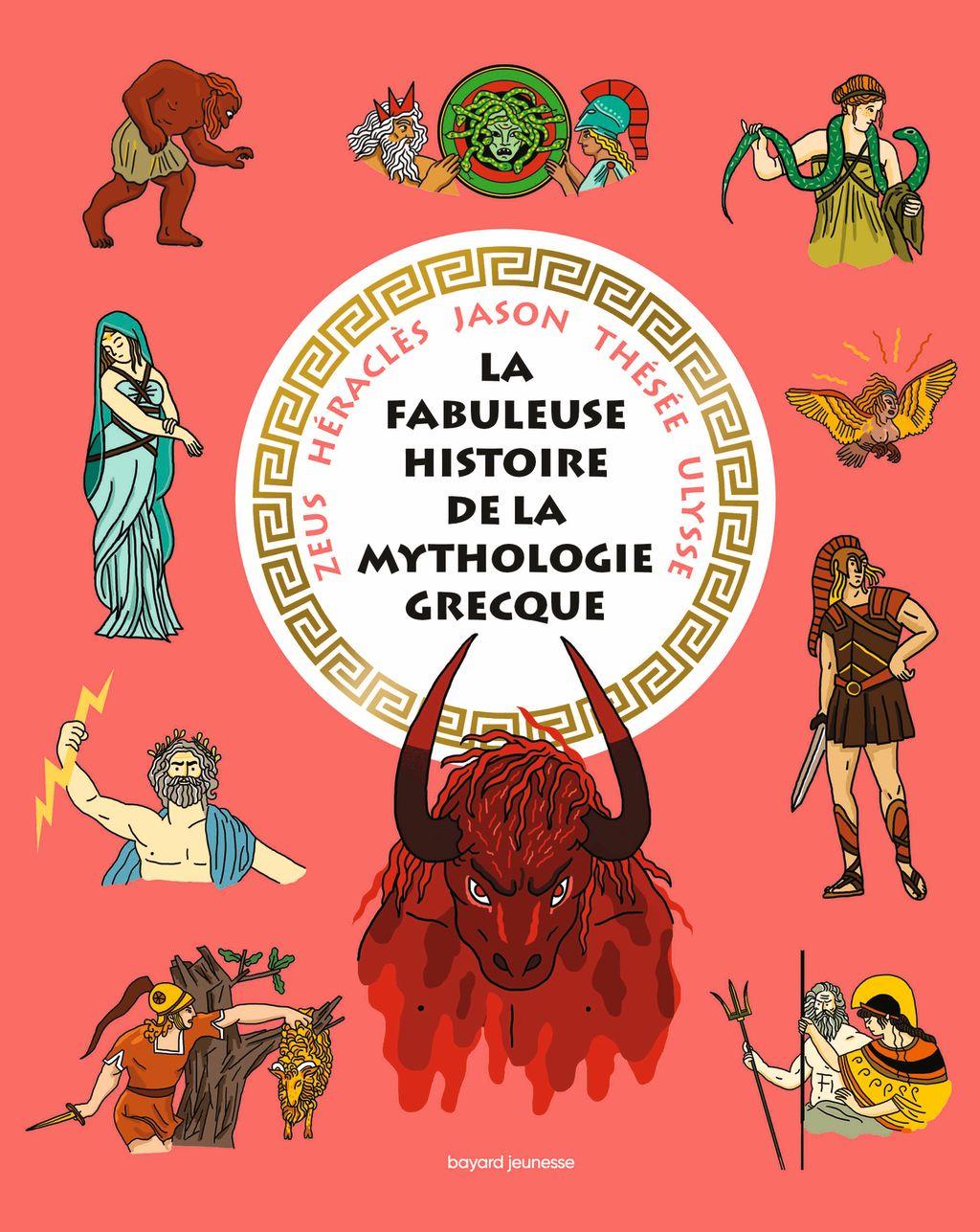 Couverture de «La fabuleuse histoire de la mythologie grecque»