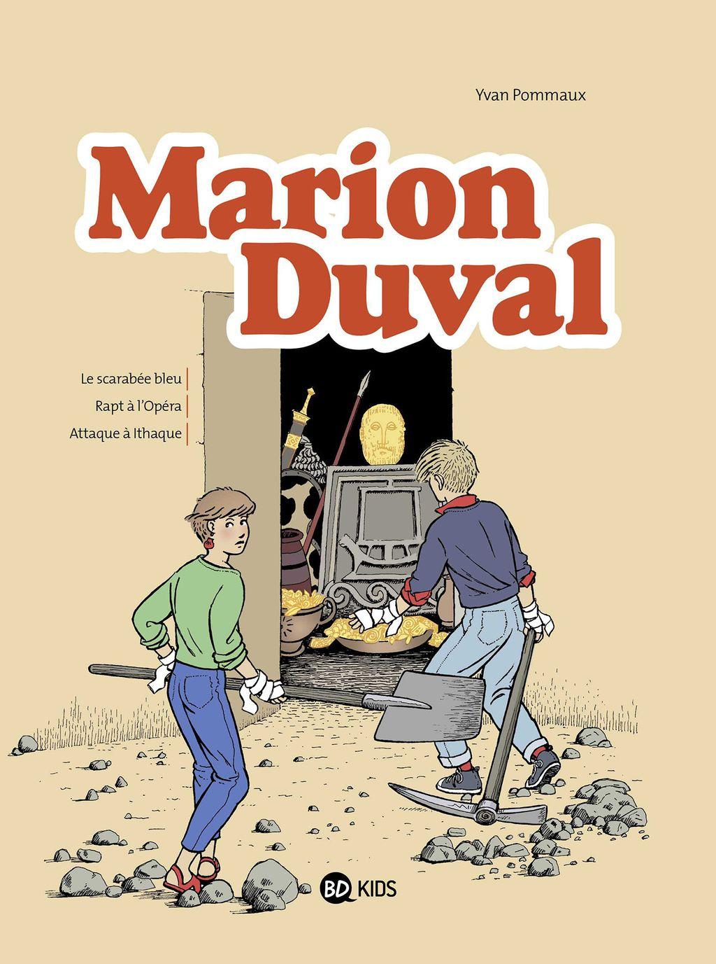Couverture de «NE Marion Duval Intégrale – T01»