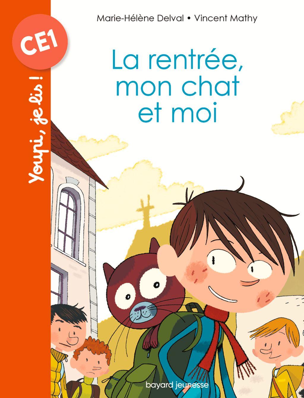 «La rentrée, mon chat et moi» cover