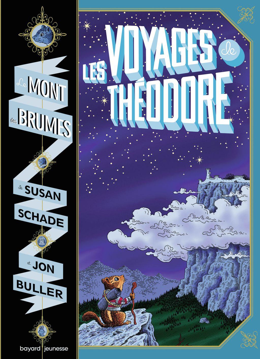 Couverture de «Les voyages de Théodore : le mont des brumes»