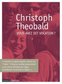 Cover of «Vous avez dit vocation ?»
