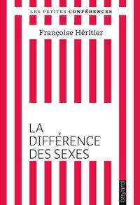 Couverture «La différence des sexes»