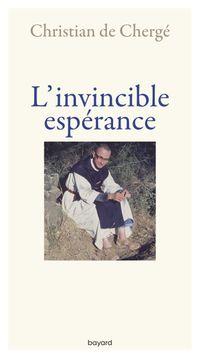 Couverture «L'invincible espérance»