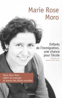 Couverture «ENFANTS DE L'IMMIGRATION, UNE CHANCE POUR L'ECOLE»