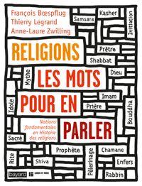Couverture «RELIGIONS, LES MOTS POUR EN PARLER»