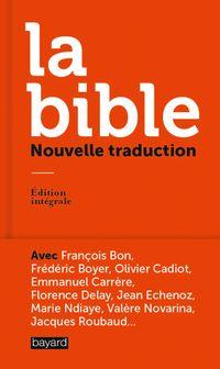 Couverture «La Bible, nouvelle traduction»