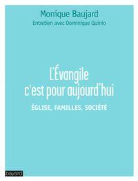 Couverture «L'ÉVANGILE C'EST POUR AUJOURD'HUI»