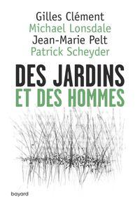 Couverture «Des jardins et des hommes»