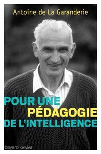 Couverture «Pour une pédagogie de l'intelligence»
