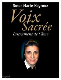 Cover of « Voix sacrée »