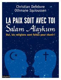 Couverture «La paix soit avec toi»