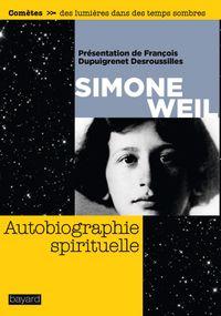 Couverture «Autobiographie spirituelle»