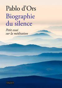 Couverture «Biographie du silence»