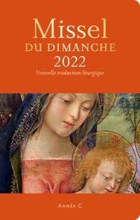 Couverture «Missel du dimanche 2022 et son livret Vivre la messe»