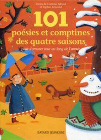 Couverture «101 poésies et comptines des quatre saisons»