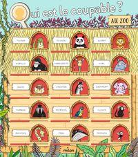 Couverture «Qui est le coupable au zoo?»