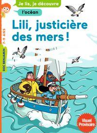 Couverture «Lili, justicière des mers»
