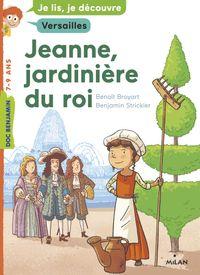 Couverture «Jeanne, jardinière du roi»